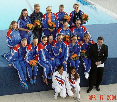 Russian Swimming Team 2004